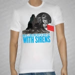 Sleeping With Sirens Mountain White T-Shirt