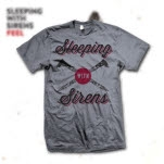 Sleeping With Sirens Tough As Nails Silver T-Shirt