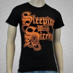 Sleeping With Sirens Tiger Black T-Shirt
