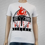 Sleeping With Sirens Torch White T-Shirt