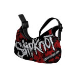 Slipknot Ladies Bag Black And Red Bag