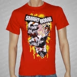 Smartbomb Buildings Red T-Shirt