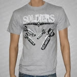 Soldiers Bombs Gray T-Shirt