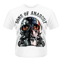 Sons Of Anarchy Flame Skull T-Shirt