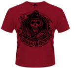 Sons Of Anarchy Reaper Banner T-Shirt