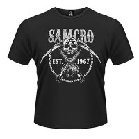 official Sons Of Anarchy Cross Guns T-Shirt