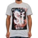Spacetime Fabric Sf Logo Ash Grey T-Shirt