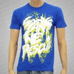 Sparks The Rescue Fuzzy Letters Royal Blue T-Shirt