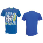 Spiderman Blue Print Tee T-Shirt