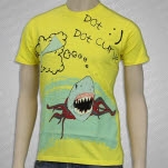 Standby Records Shark Yellow T-Shirt