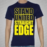 Stand United Straight Edge Navy Blue T-Shirt
