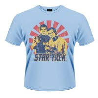 Star Trek Kirk And Spock T-Shirt