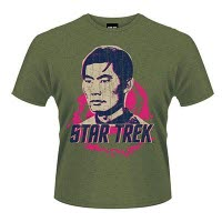 Star Trek Sulu Space T-Shirt