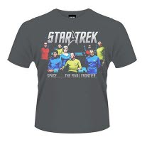 Star Trek Final Frontier T-Shirt