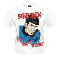 Star Trek Live Long And Prosper T-Shirt