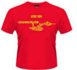 Star Trek Ships Of The Line Red T-Shirt