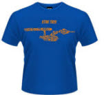 Star Trek Ships Of The Line Blue T-Shirt