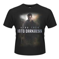 Star Trek Into Darkness Kirk Poster T-Shirt