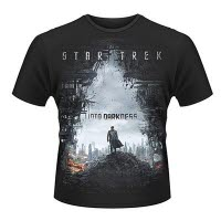 Star Trek Into Darkness Poster T-Shirt