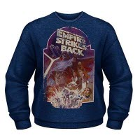 Star Wars Empire Strikes Back Crew Neck Sweat-Shirt
