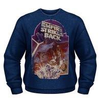 Star Wars Empire Strikes Back Crew Neck Sweat-Shirt