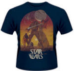 Star Wars Sunset Blue T-Shirt