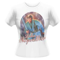 Star Wars Luke Skywalker Girlie T-Shirt
