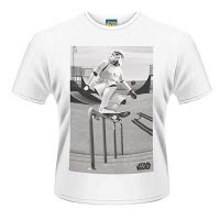 Star Wars Storm Trooper Skater T-Shirt