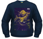 Star Wars Dj Yoda Crew Neck Sweat-Shirt