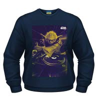 Star Wars Dj Yoda Crew Neck Sweat-Shirt