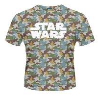 Star Wars Boba Fett Camo Dye Sub T-Shirt