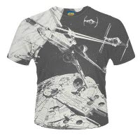 Star Wars Space Battle Dye Sub T-Shirt