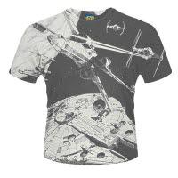 Star Wars Space Battle Dye Sub T-Shirt