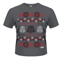 Star Wars Vader Fair Isle T-Shirt