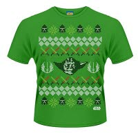 Star Wars Yoda Fair Isle T-Shirt