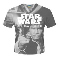 Star Wars A New Hope Dye Sub T-Shirt
