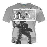 Star Wars Return Of The Jedi Dye Sub T-Shirt