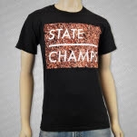 State Champs Floral Black T-Shirt