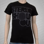 Stereo Shout Out Disco Logo Black T-Shirt