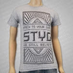 Stick To Your Guns Believe Heather Grey T-Shirt