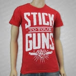 Stick To Your Guns Orange County Heather Red T-Shirt