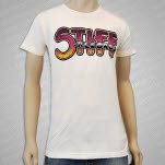 Stiff Records Logo Natural T-Shirt