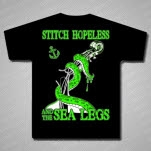 Stitch Hopeless  The Sea Legs Tentacles Black T-Shirt