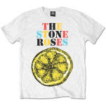 Stone Roses Logo Lemon Multicolour T-Shirt