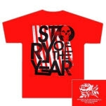 official Story Of The Year Skull Logo Red Girls T-Shirt