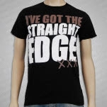 Straight Edge Ive Got The Straight Edge Black T-Shirt
