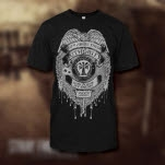 Stray From The Path Badge Black T-Shirt