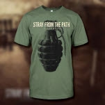 Stray From The Path Grenade Army Green T-Shirt
