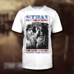 Stray From The Path Patriot White T-Shirt