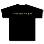 Straylight Run Pwns Black T-Shirt
